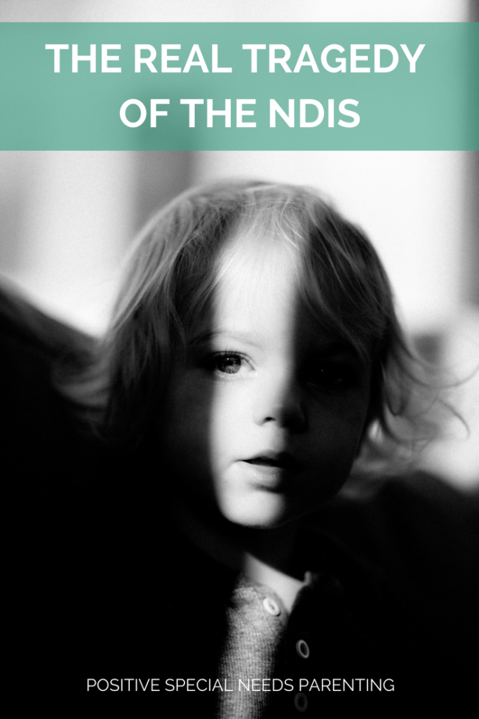 The Real Tragedy of the NDIS