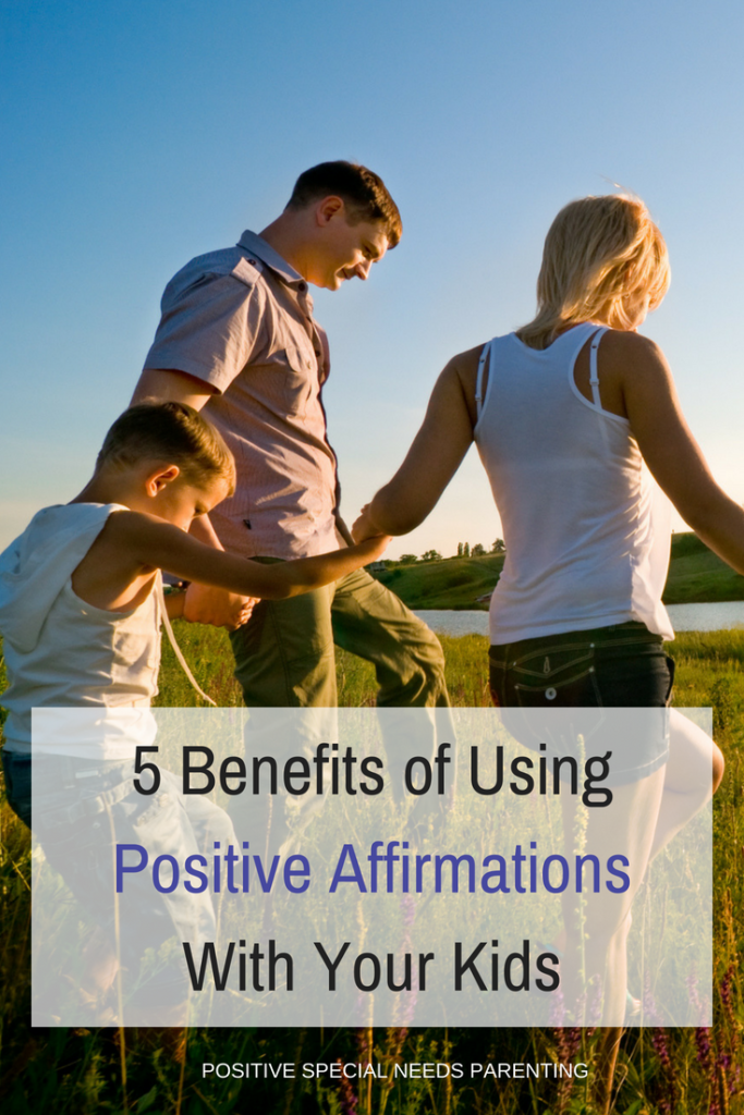 5 Benefits of Using Positive Affirmations With Your Kids