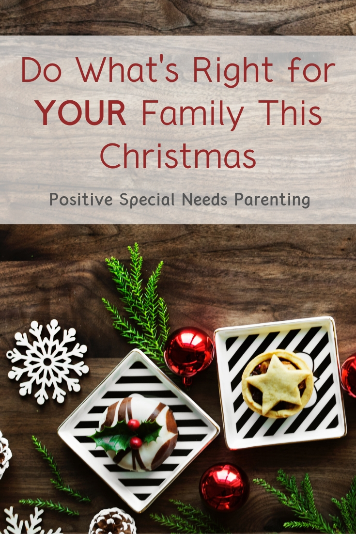 Do What's Right For Your Family This Christmas